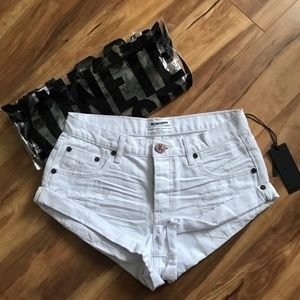 One Teaspoon White Bandit Shorts